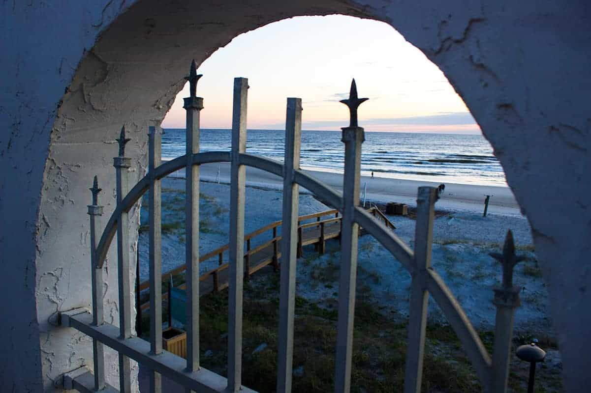 Casa Marina Jacksonville Florida gated historic hotel