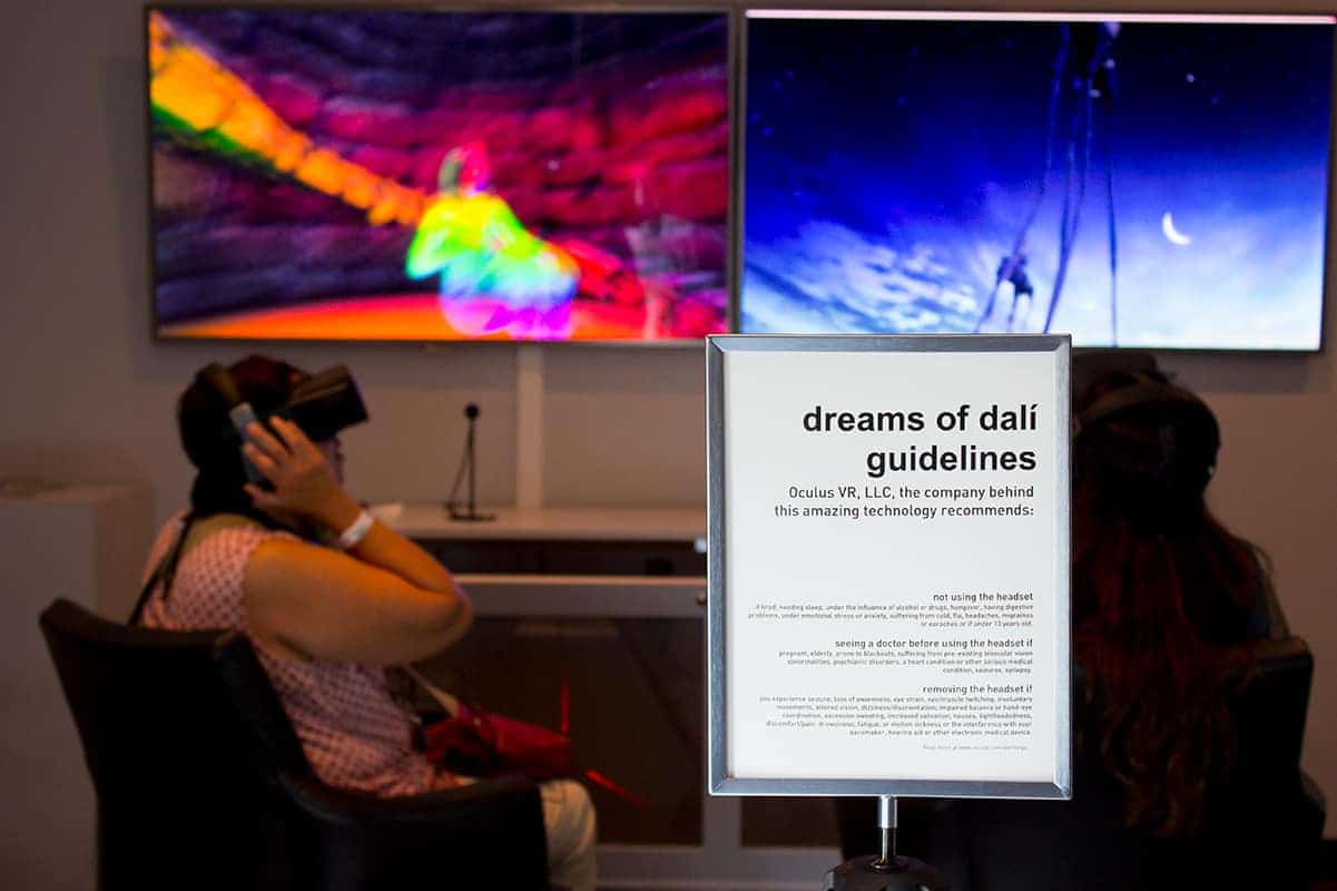 Dali Museum Dreams of Dali VR Experience VSPC St Petersburg