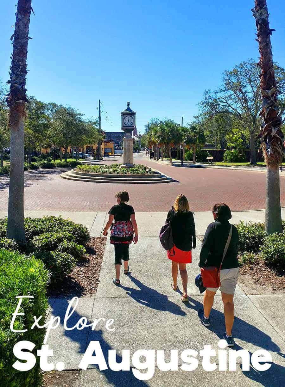 Exploring the Historic Coast of Florida, St. Augustine.