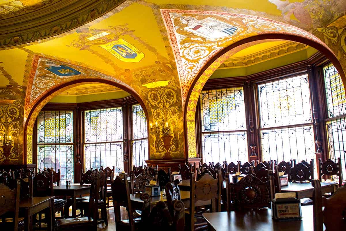 Flagler College Ponce De Leon Hotel St Augustine Architecture Tiffany Glass Windows