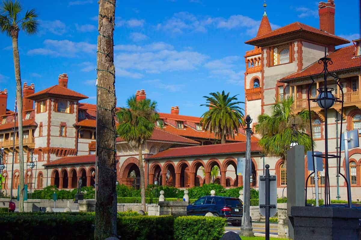 Flagler College Ponce De Leon Hotel St Augustine Architecture
