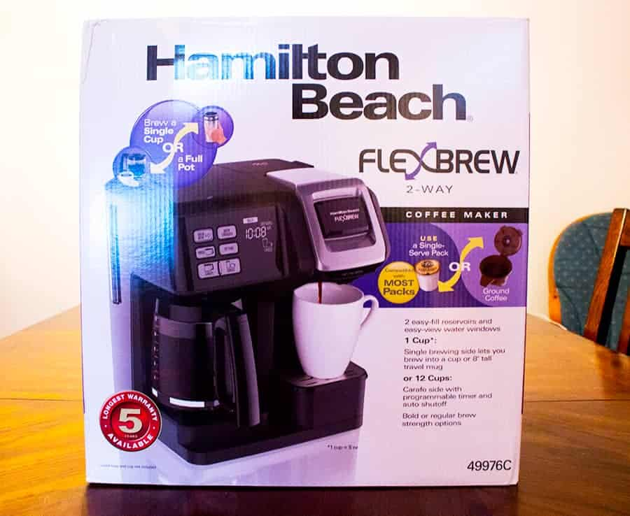 Hamilton Beach 2 in 1 Coffee Maker Single Cup Keurig and Carafe