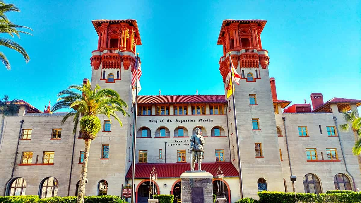 Historic Alcazar Hotel St Augustine Florida