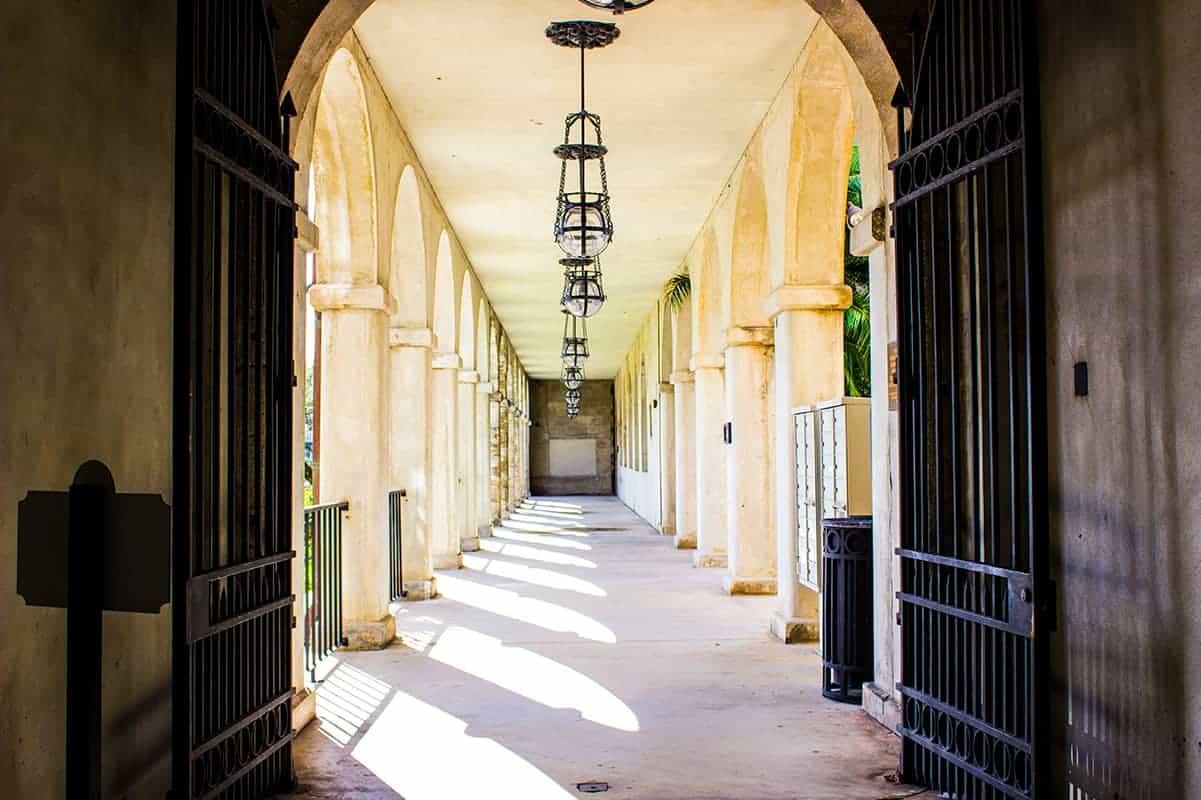 Lightner Museum Corridor St Augustine Florida Historic Coast
