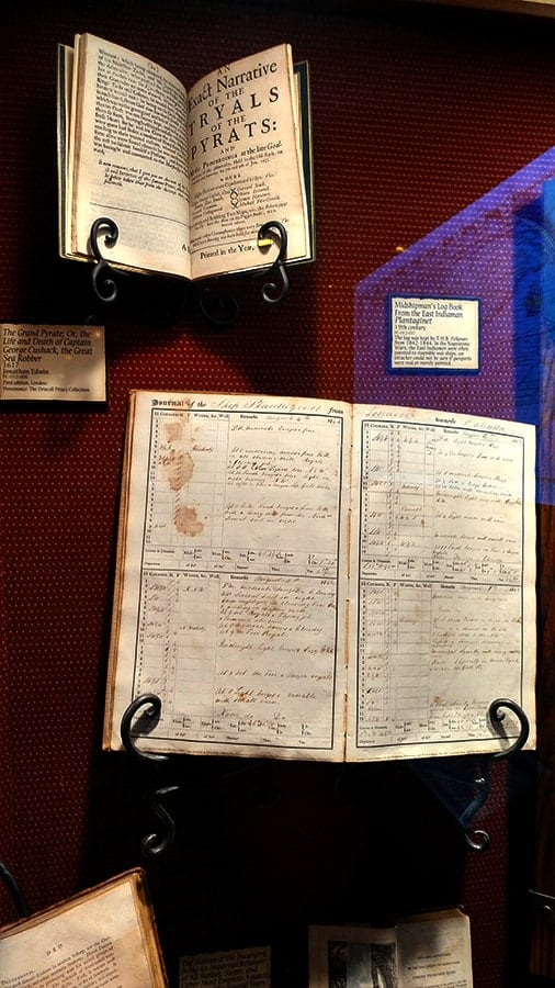 Pirate and Treasure Museum Log Books
