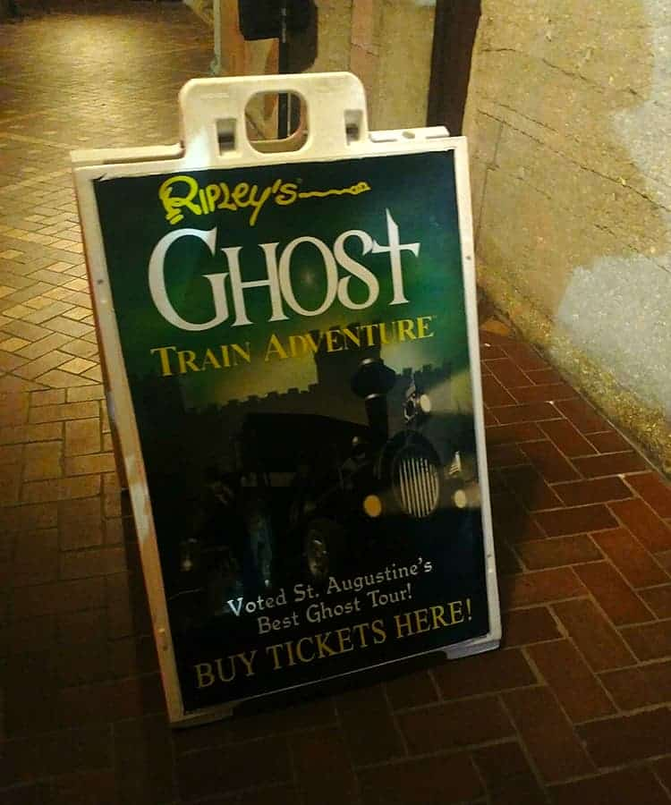 Ripleys Ghost Train Adventure St Augustine Florida