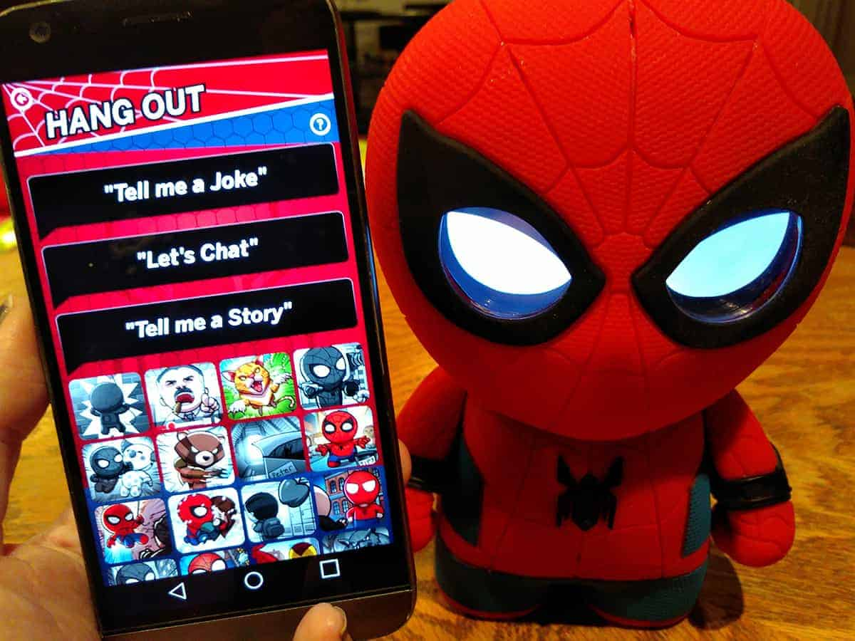 Sphero Spider-man Interactive App Hang Out Tell Me A Story