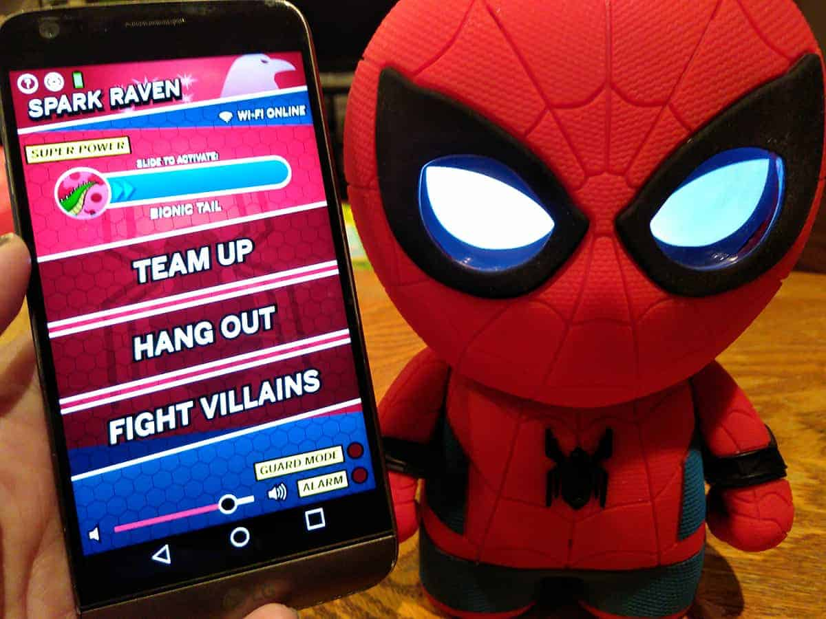 Sphero Spider-man Interactive App Play Team Up Hang Out