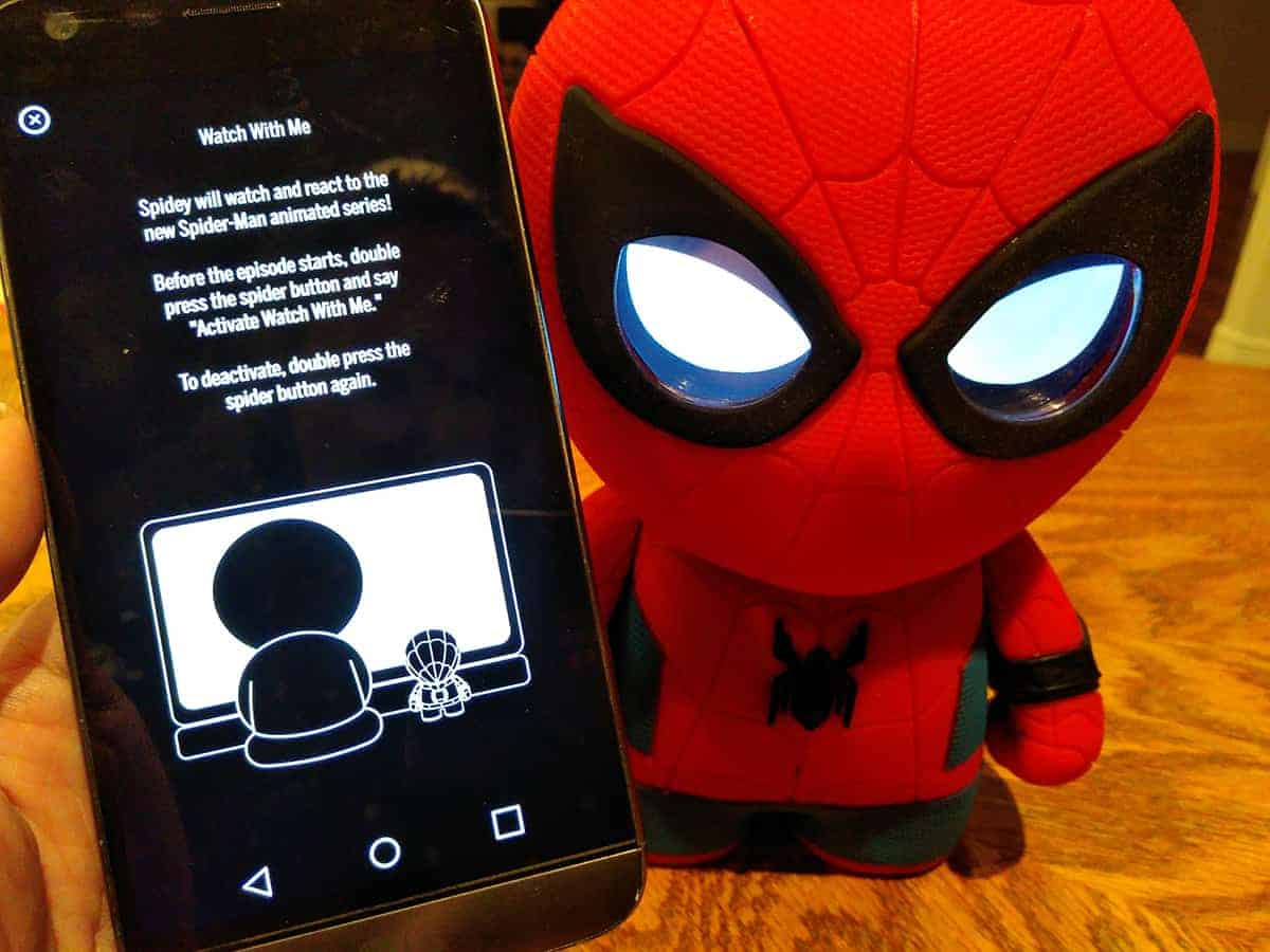 Sphero Spider-man Interactive App Watch With Me