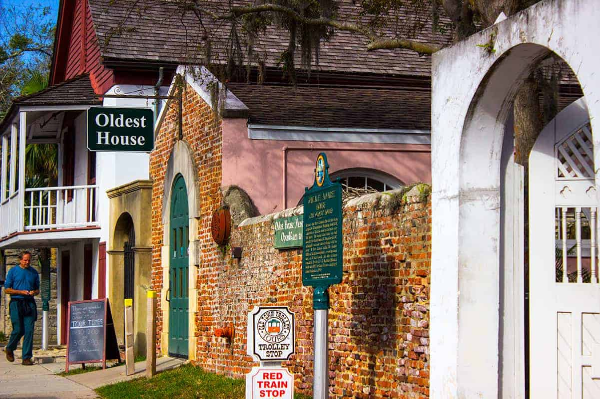 St Augustine Oldest House Red Train Tour