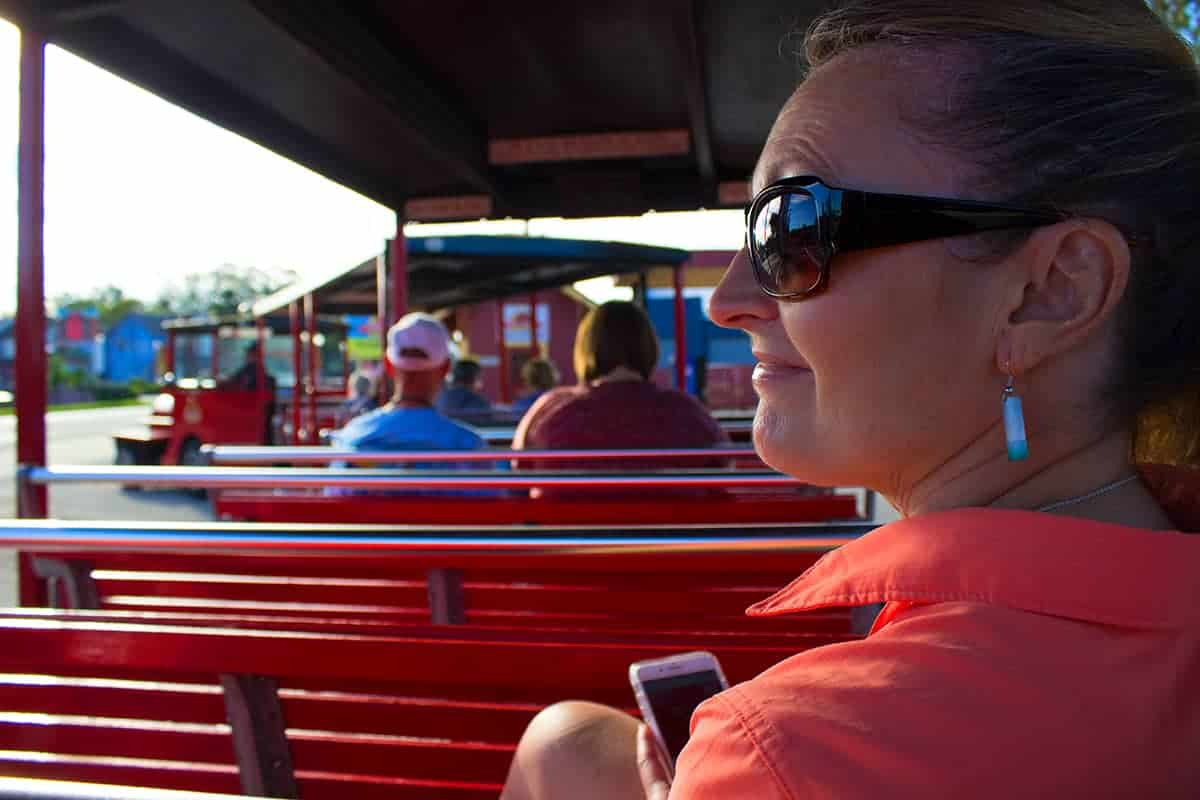 St Augustine Red Train Tours Paula Girlfriend Getaway Florida