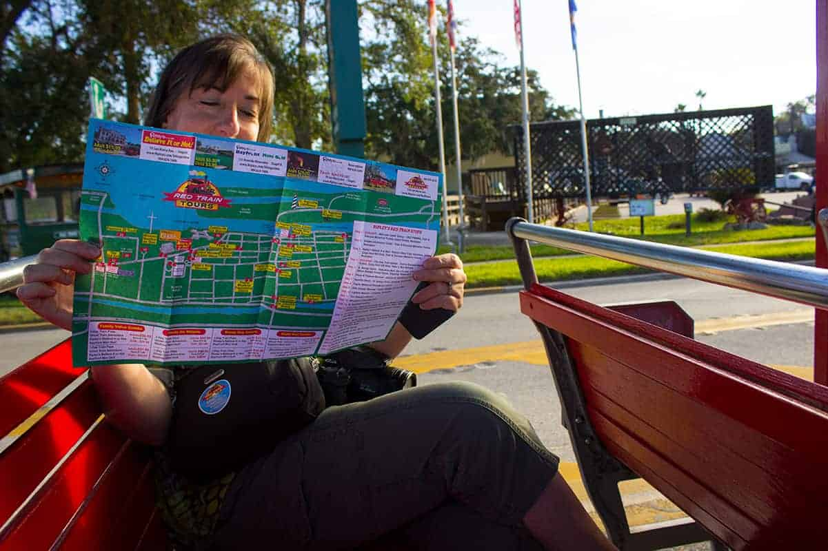 St Augustine Red Train Tours Sandy Girlfriend Getaway Florida