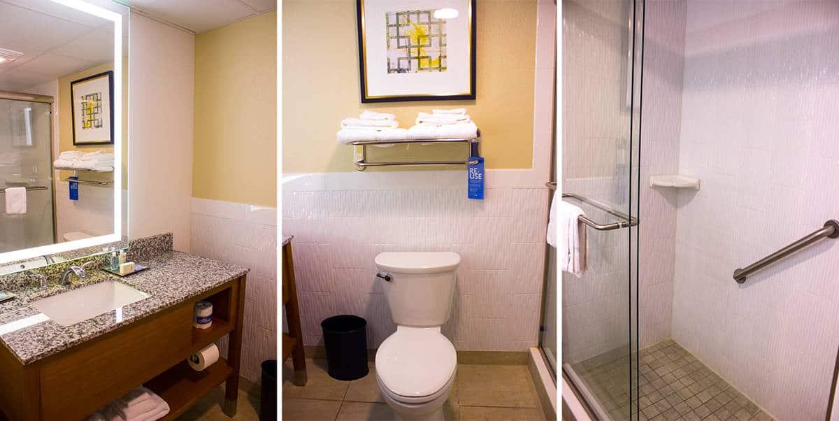 St Augustine TRYP Wyndham Hotel Suite Bathroom