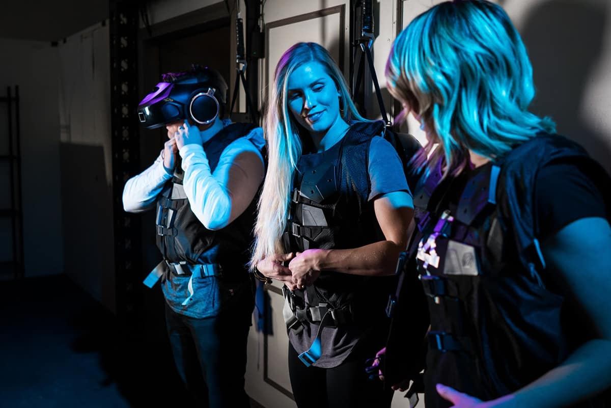 Toronto The Rec Room Ghostbusters VR Game The VOID Gear