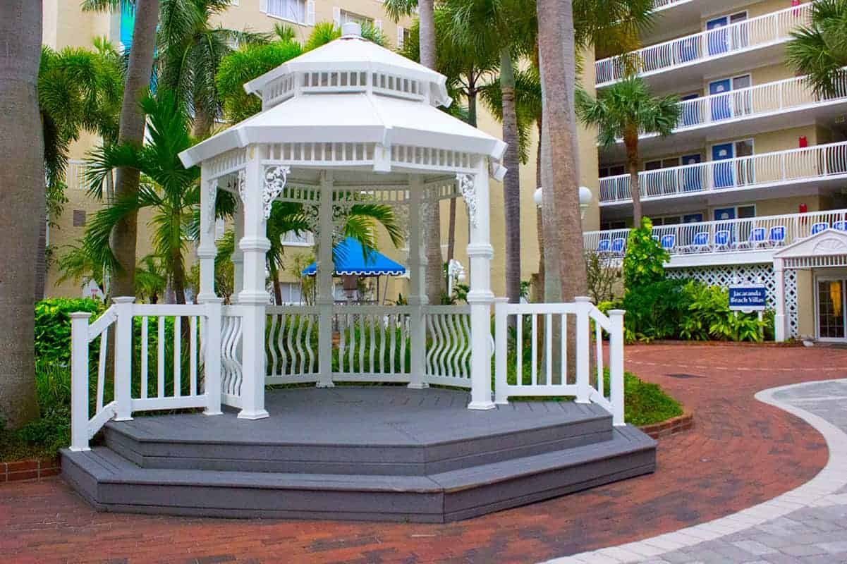 TradeWinds Resort Beach Gazebo St Petes Beach Florida