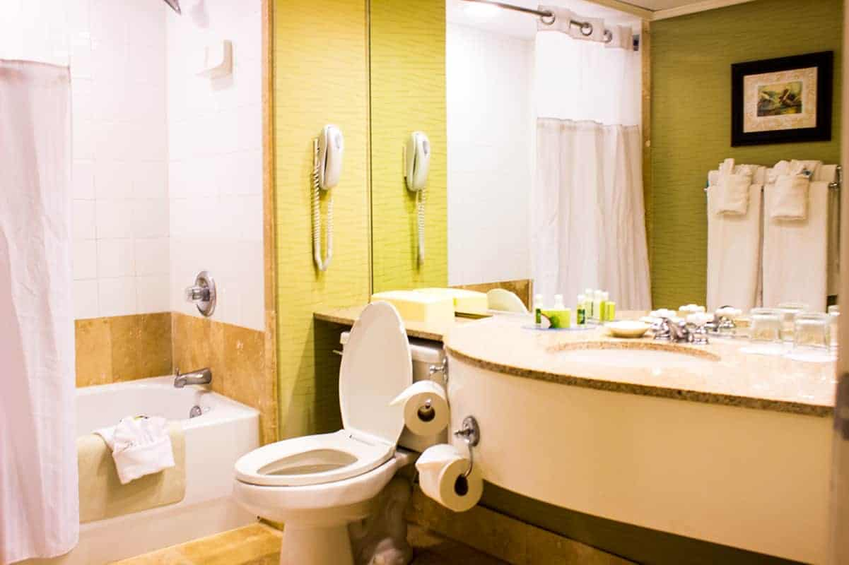 TradeWinds Resort Two Bed Suite Bathroom St Petes Beach Florida