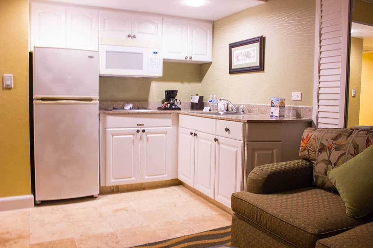 TradeWinds Resort Two Bed Suite Kitchen St Petes Beach Florida
