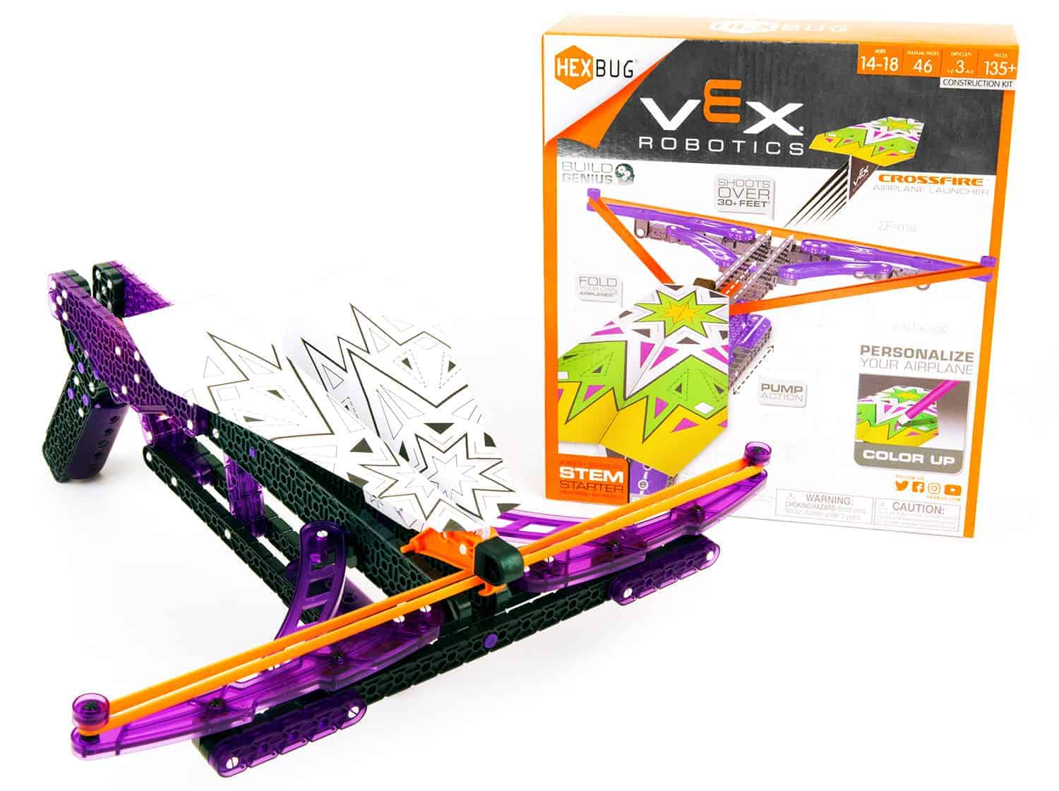 VEX Robotics Crossfire Airplane Launcher HEXBUG