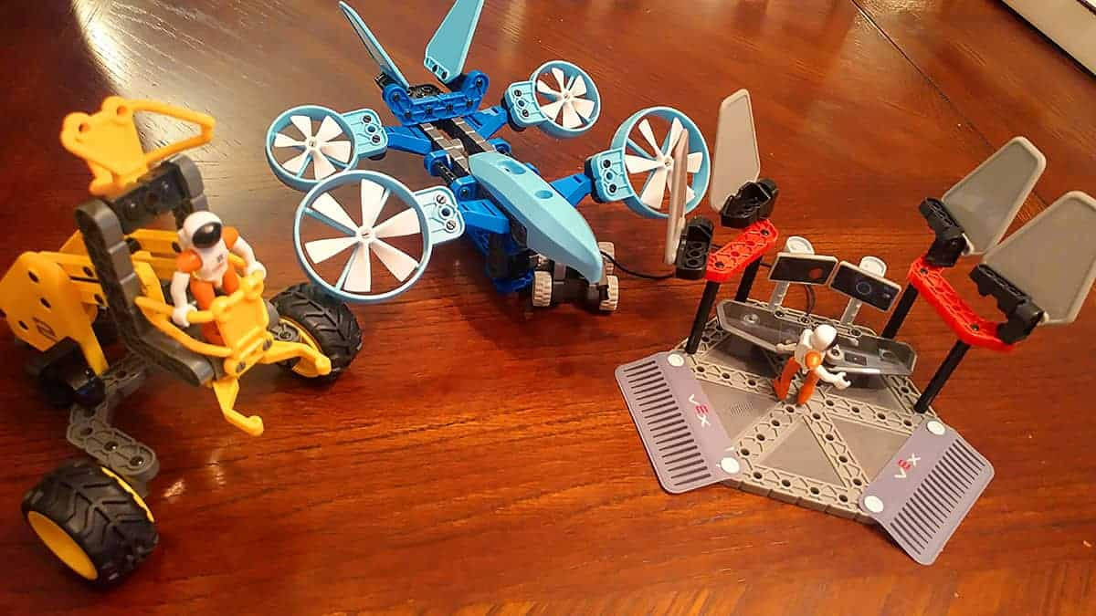 VEX Robotics Explorer Discovery Command Space Kit STEM Gift Guide