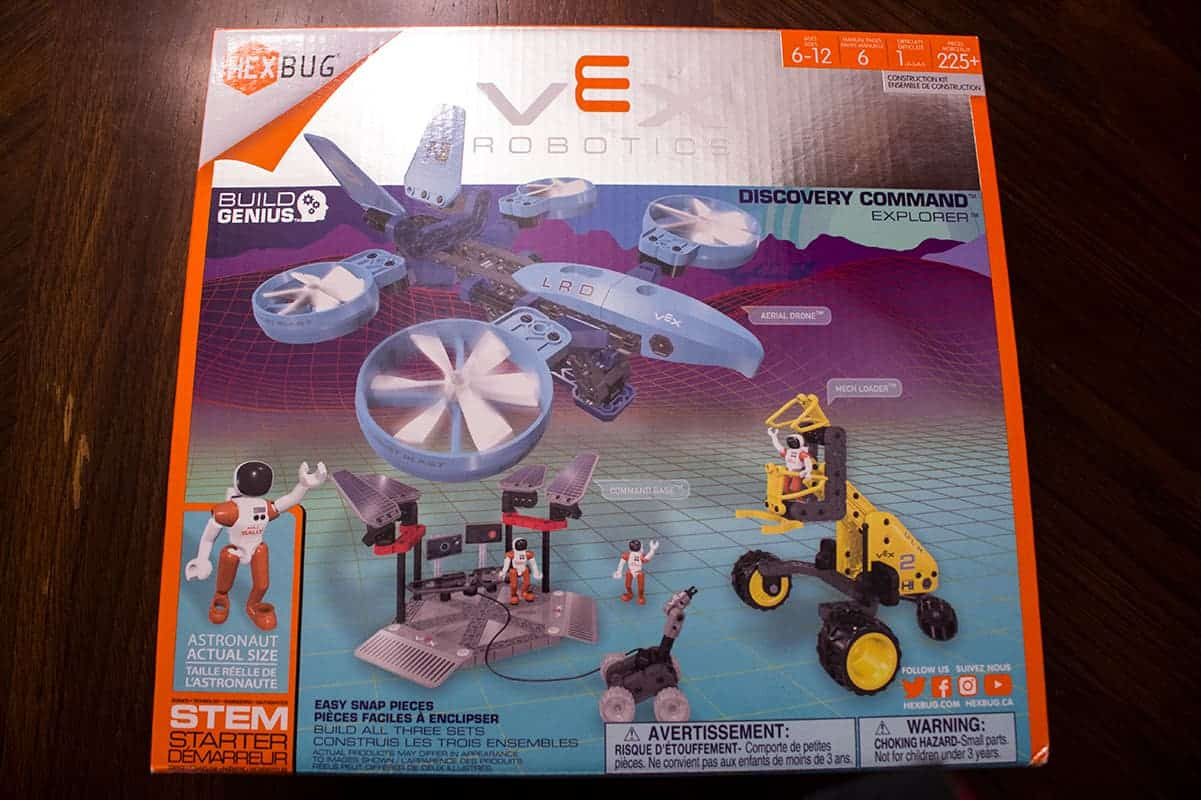 VEX Robotics Explorer Discovery Command Space STEM Gift Guide