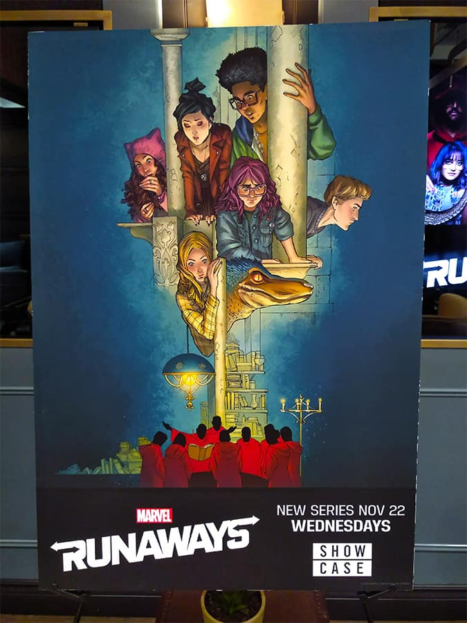 Marvel Runaways Poster Craig Yeung Showcase The Rec Room Toronto