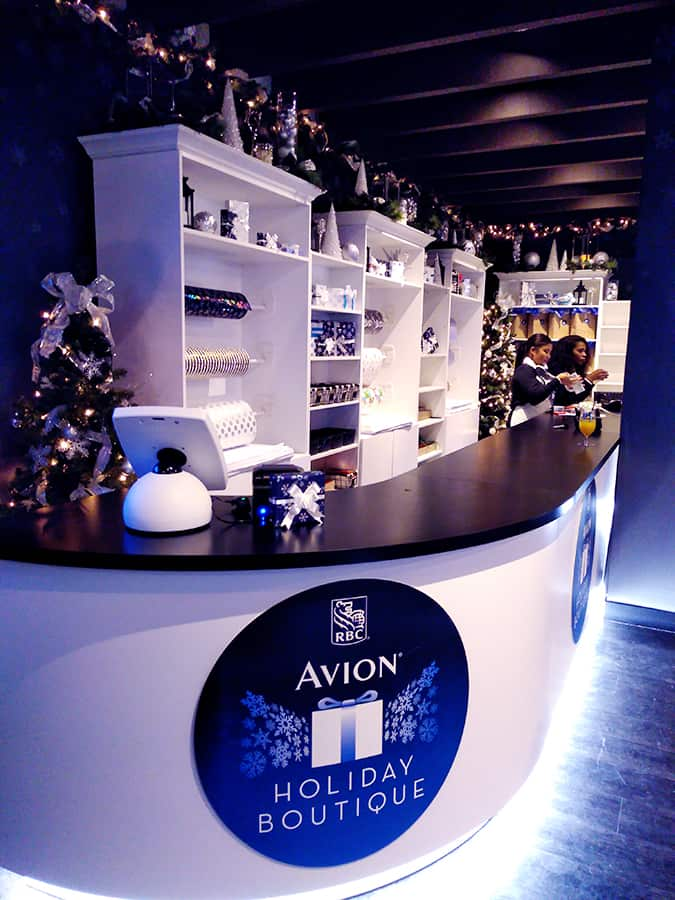 RBC Avion Holiday Boutique Now Open Yorkdale Mall Toronto