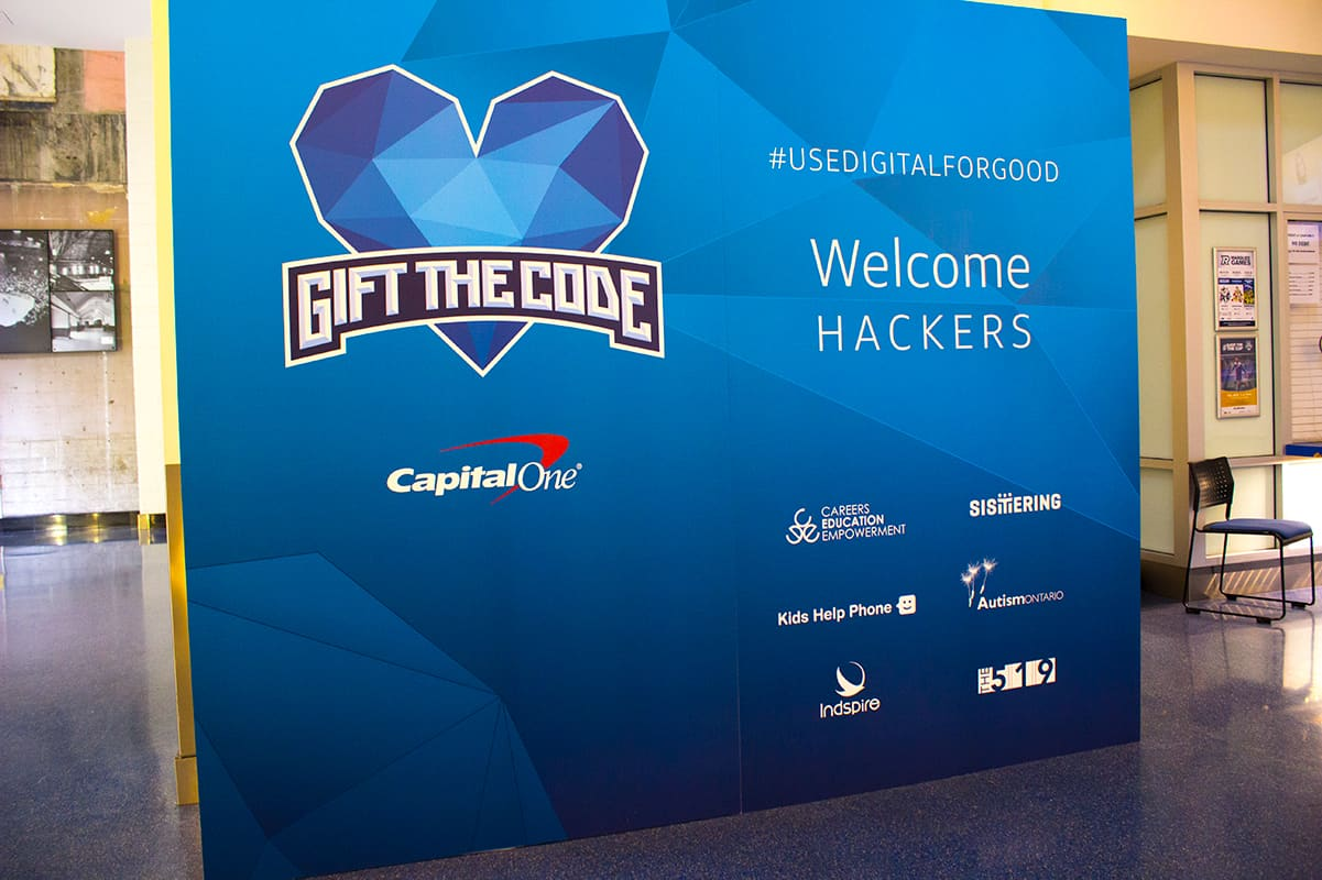 Welcome Hackers Use Digital For Good Capital One Toronto