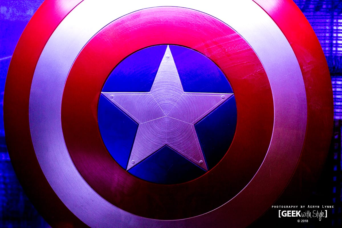 Black Panther Captain America Shield Marvel Universe Disney Studios Canada
