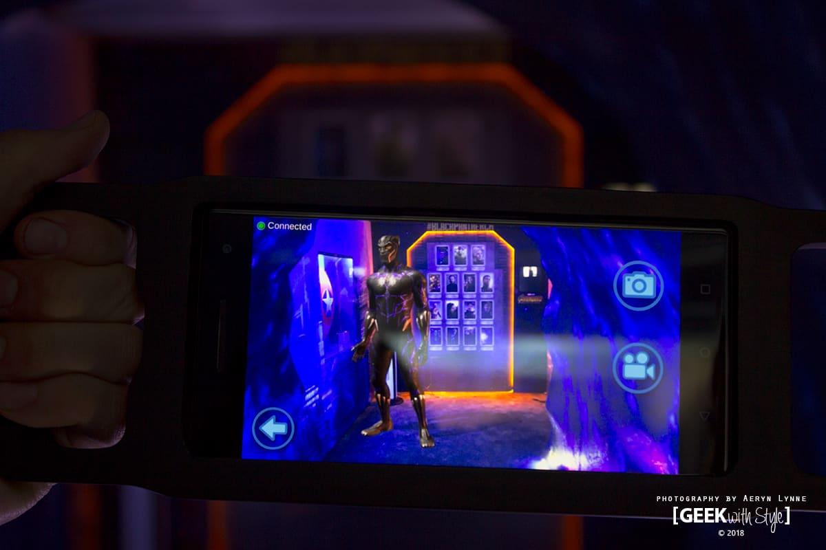 Black Panther Selfie AR Experience Toronto Marvel Disney