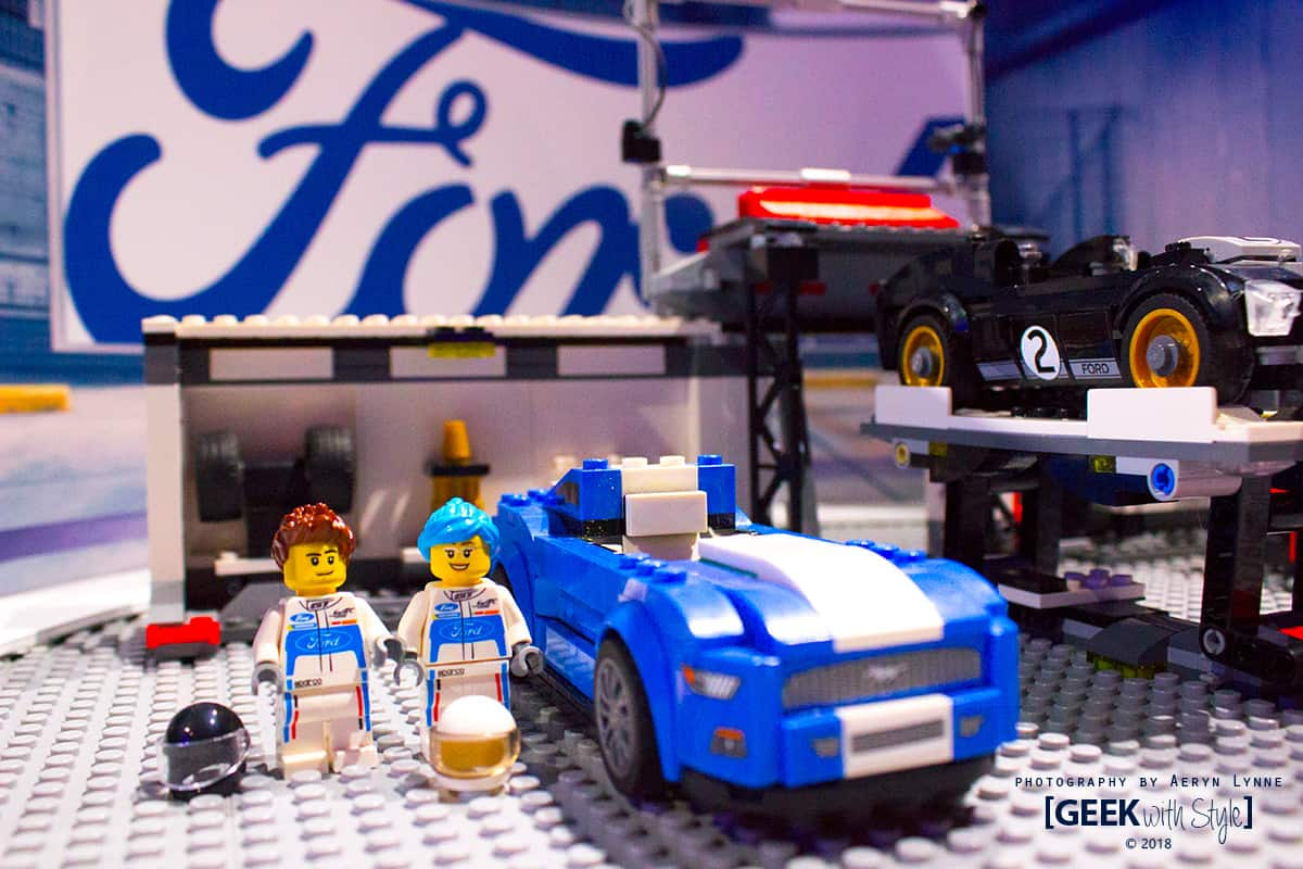 FORD - Lego Cars and design your person CIAS 2018 Toronto