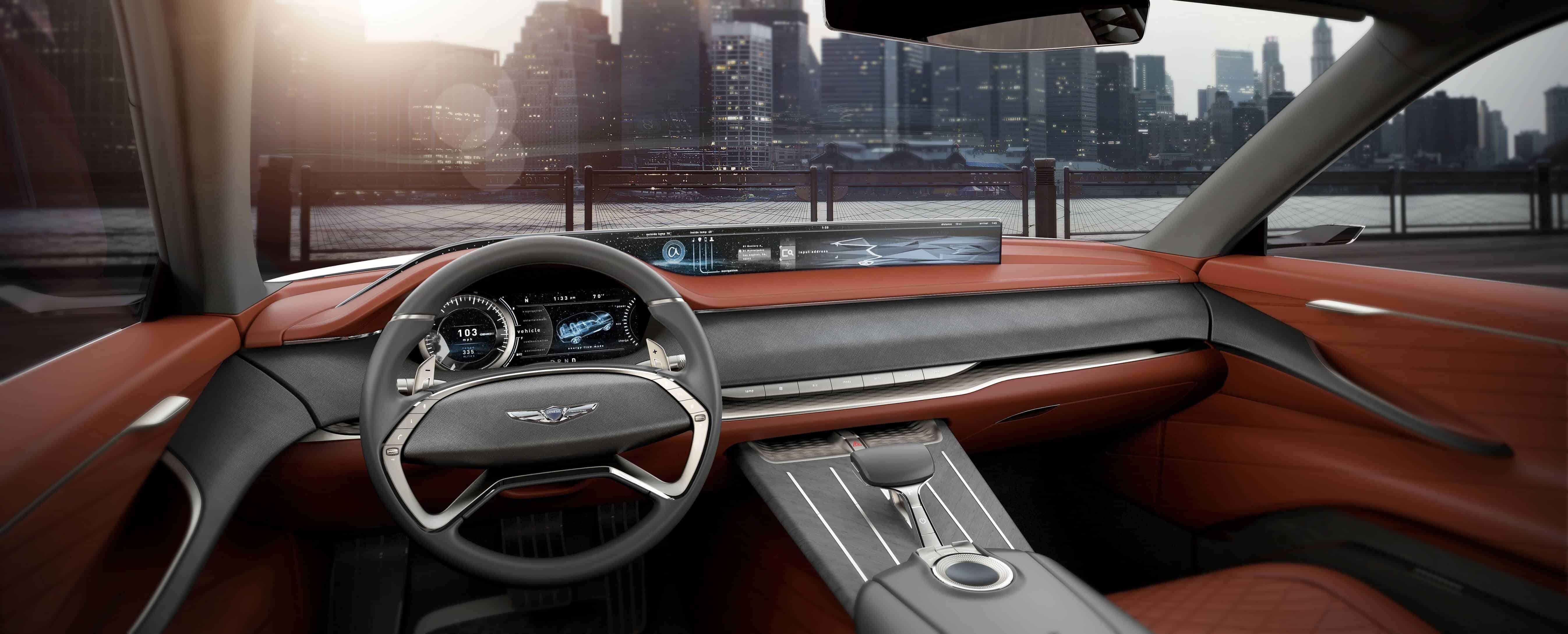 Genesis GV80 Concept Car Interior