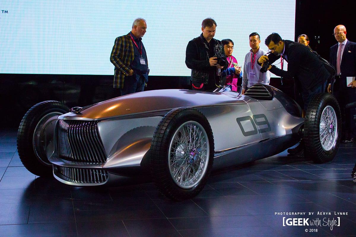 Infiniti Prototype 9 EV Concept CIAS 2018