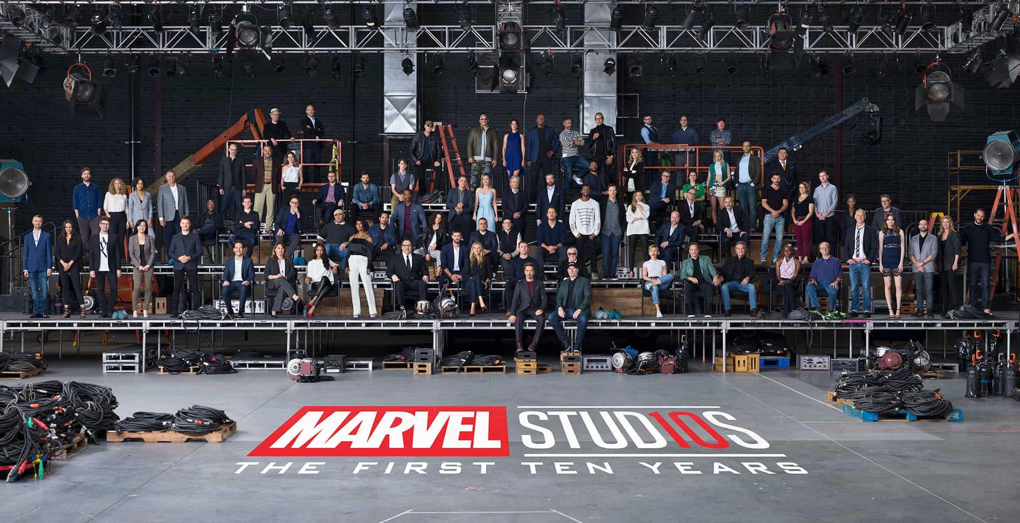 Marvel MCU 10th Anniversary Class Photo