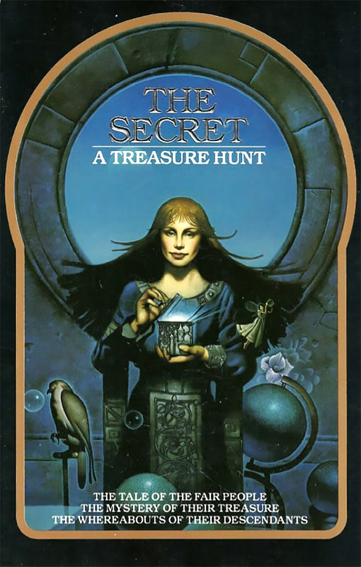 The Secret Treasure Hunt Book Cover