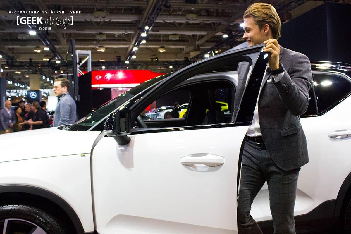 Volvo Ambassador William Nylander Maple Leafs Forward CIAS 2018