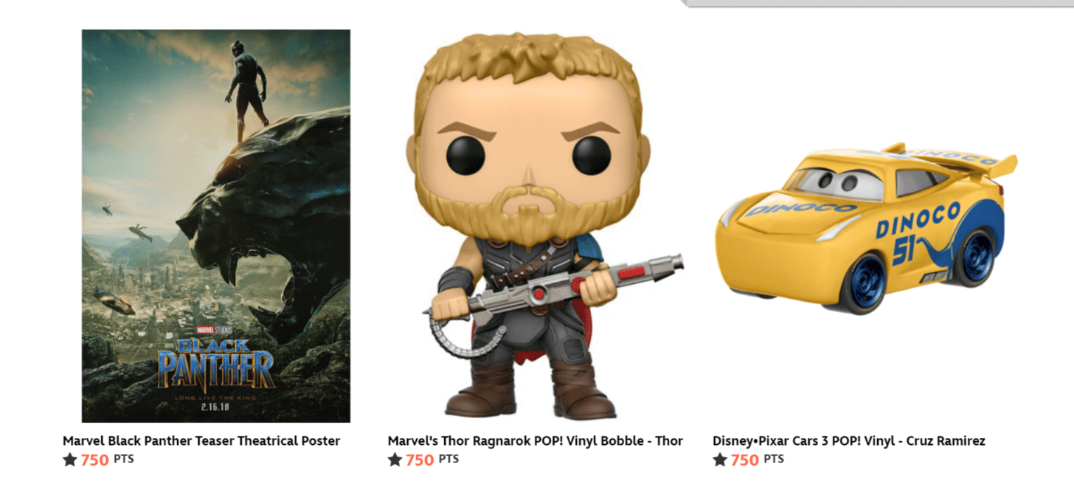 Disney Thor Funko Pop Points Free