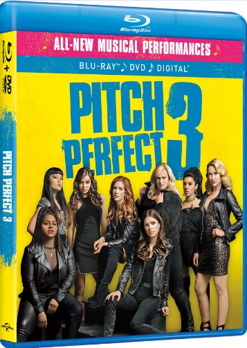 Pitch Perfect 3 Cover Bluray Disc